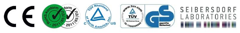 certificazioni pannello infrarossi vetro bianco 800Watt Raffaello®