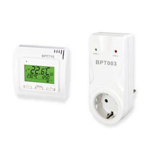 cronotermostato senza fili con presa muro riscaldamento elettrico senza fili RF radiofrequenza