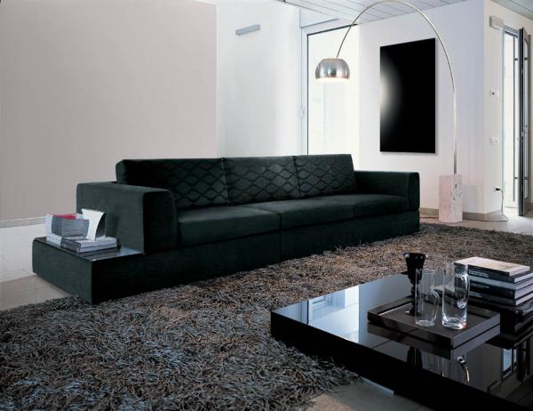 pannello Infrarossi Raffaello dettaglio vetro nero riscaldamento elettrico design