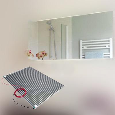 Pellicola antiappannamento specchio bagno varie misure - Misure specchio bagno ...