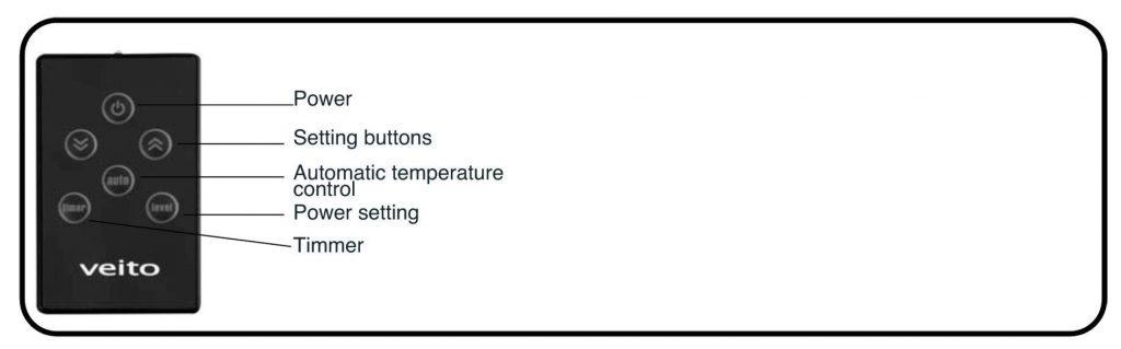 telecomando riscaldatore alta potenza infrarossi esterni