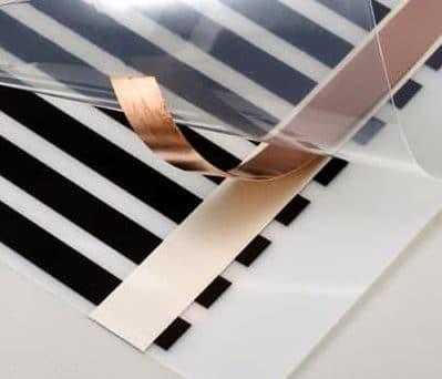 certificazioni pellicola riscaldante 24V collegamenti elettrici