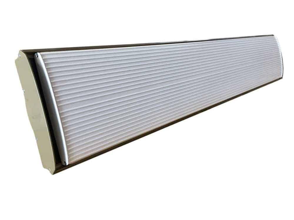 Riscaldatore radiante infrarossi alta potenza 2400watt bianco for Pannelli radianti infrarossi portatili