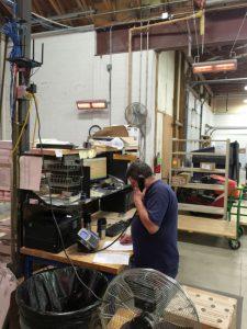 riscaldamento ir postazione lavoro riscaldamento industriale elettrico