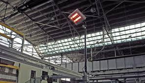 riscaldamento infrarossi industria fabbriche