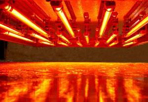 riscaldamento infrarossi processi produttivi infrarossi