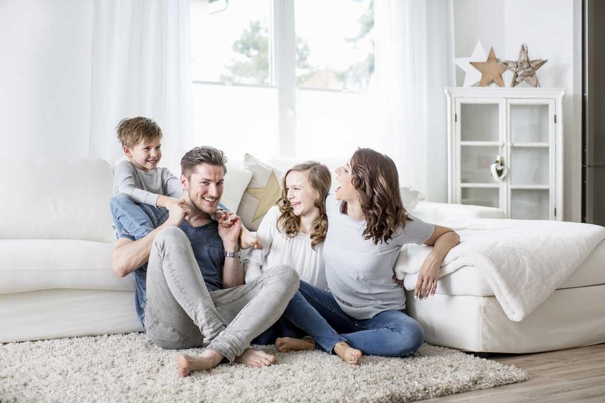 happy family infrarossi Risparmia sui costi energetici con il controllo temperatura della singola stanza